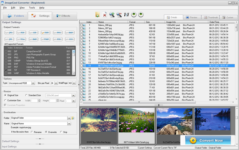 Graphics Converter Pro 2011 screenshot